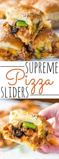 If you love pizza then these Supreme Pizza Sliders are just what you need. It takes the traditional favorite and turns them into bite sized nirvana!
