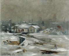 Edouard Manet (1832-1883) La Gare Du Chemin De Fer De Sceaux 1870 (50 by 60,5 cm)