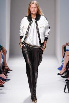 Balmain Spring 2014 RTW - Runway Photos - Fashion Week - Runway, Fashion Shows and Collections - Vogue Fashion Week Paris, Runway Fashion, Spring Fashion, High Fashion, Fashion Show, Fashion Design, Fashion Trends, 2014 Trends, Estilo Fashion