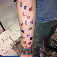 a true gamer's tatoo DUSTINJUDE_TATTOOS-ON-INSTAGRAM