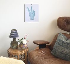 Peace Out letterpress print Sign Printing, Letterpress Printing, Images Of Peace, Cozy House, Accent Chairs, Teal, Prints, Furniture, Finger