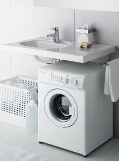 Interesting bathroom design with washing machine Laundry Room Design, Bathroom Design Small, Bathroom Layout, Bathroom Interior, Modern Bathroom, Bathroom Ideas, Steam Showers Bathroom, Laundry In Bathroom, Laundry Rooms