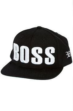 451104c090b BOSS snapback (Black Bold) Like A Boss
