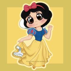 Chibi Snow White by Jennifairyw on deviantART