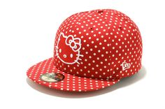 Hello Kitty Hat with Polka Dots! Love it!