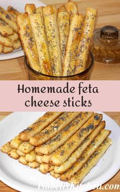 Homemade feta cheese sticks (video recipe) - isabell's kitchen