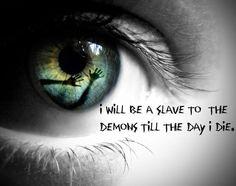 I will be a slave...