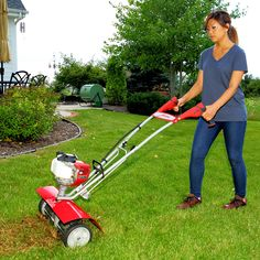 """Are weeds and crab grass a problem for you? Then you need this attachment! Quickly removes weeds and the tan-looking built-up """"thatch"""" that can choke your l Garage Pergola, Wooden Pergola, Pergola Patio, Lawn And Garden, Garden Tools, Garden Ideas, Pergola Pictures, Lawn Mower, Lawn Dethatcher"""