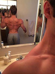 Jeff Seid's back is shredded! #bodybuilding #fitness #ectomorph #fitfam #fitspo #AllKindsOfGains #Muscles