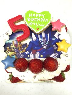 キュートランスフォーマーのケーキ Happy Birthday, Birthday Cake, Cakes, Desserts, Food, Happy Brithday, Tailgate Desserts, Birthday Cakes, Deserts