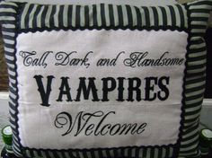 Vampire love!  www.everybodysgeneralstore.com