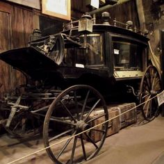Black Moira. Funnel carriage in Tombstone Arizona. Said to be haunted.