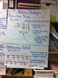 Thinking of Teaching: Addition and Subtraction Strategies