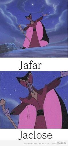 Jafar, Jaclose