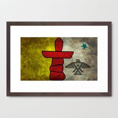 Two Cultures Framed Art Print