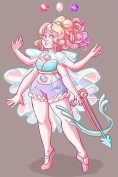 Rose/Pearl/ Amethyst fusion