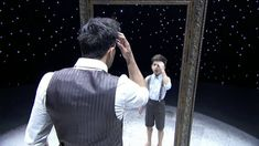 """Alexandre Desplat """"The Mirror"""" performed by J T  &  Robert's. This mirror inspired dance Is so beautifully haunting."""