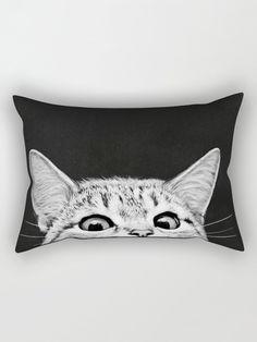 #SheIn - #SheIn Cat Print Pillowcase Cover - AdoreWe.com