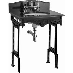 Burlington Georgian Granite Margavine Wash Stand : ukBathrooms