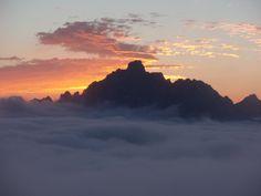 Peña Santa desde Collado Jermoso (Picos de Europa)