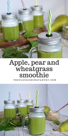 A wheatgrass smoothie packs a big nutritional punch on its own if you don't mind the taste. To improve the taste get some other dietary ingredients Diet Smoothie Recipes, Smoothie Packs, Smoothie Prep, Raspberry Smoothie, Juice Smoothie, Smoothie Drinks, Breakfast Smoothies, Healthy Smoothies, Diet Drinks