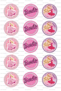 INSTANT DOWNLOAD Barbie Sparkle 4x6 Digital by PartyPotpourri, $1.50