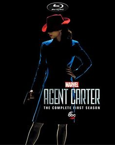 Agent Carter Season 1 Blu-Ray Cover