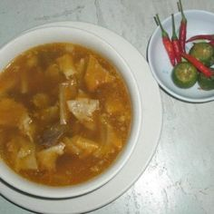 What sets gotong Batangas apart from the other version Filipinos know is that goto in this province Goto Recipe, Batangas, New Years Eve Outfits, Pinoy Food, Filipino Recipes, New Years Party, Food Cravings, Chana Masala, Allrecipes