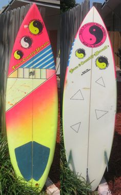 Town and Country Surf boards from 1984