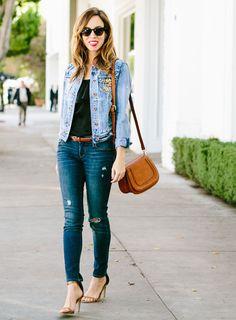 debafe79785da How to wear denim on denim - Sydne Style Inspired By  Kate Hudson s Double  Denim