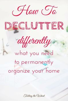 Tried to declutter with no lasting results? These organizing resources will help organize photos, kids' paperwork, and the entire home so that it stays clutter-free.