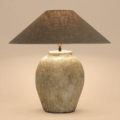 #Tafellamp (keramiek)