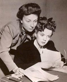 "Agnes Moorehead and Ida Lupino Suspense"" radio broadcast, 1944"