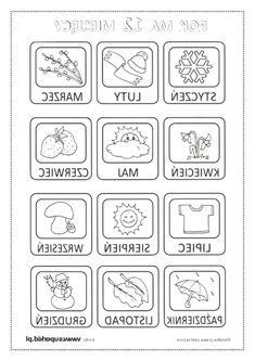 Learn Polish, Polish Language, Worksheets, Techno, Calendar, Dots, Bullet Journal, Coding, Education