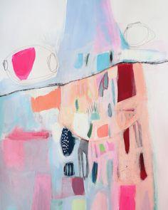 ABSTRAKTE Malerei Bildende Kunst Giclée-Druck von LolaDonoghue
