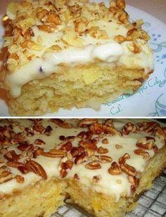 No Bake Desserts, Easy Desserts, Delicious Desserts, Yummy Food, Baking Desserts, Baking Recipes, Cake Recipes, Dessert Recipes, Amish Recipes