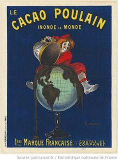 Le Cacao Poulain inonde le monde. 1ère marque française. Goutez et comparez : [affiche] / [Leonetto Cappiello] - 1