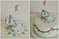 Birds Like Cake: Elephant Birthday Cake