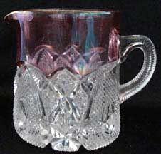 Beatty glass co. | beatty rib aka ribbed opal is a 3 tall form by j beatty glass co ca ...