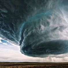 Supercell in Wyoming