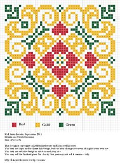 Free sewing pattern graph for cross stitch.