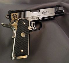 Predator Tactical announces the new Shrike 1911. 100% Made in America, to Matt Burkett's demanding specifications, this all stainless steel handgun features a tactical rail, front night sight, adjustable rear sight, and custom engraving. The gun is built on the finest 1911 parts available, the Wilson Combat© Bullet Proof© parts line.