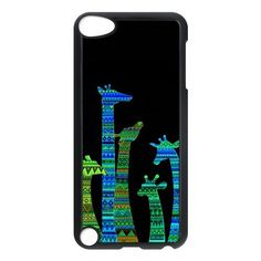 Amazon.com: Colorful Aztec Tribal Giraffe Protective Hard PC Back Fits Cover Case for iPod Touch 5, 5G (5th Generation): Cell Phones & Accessories