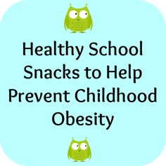 Healthy School Snacks Can Prevent Childhood Obesity: Concerned parents spend a lot of time thinking about ways they can help prevent childhood obesity from becoming an issue with their kids. They limit video games, look for family fitness activities to do together, and try to get their kids up and moving as much as possible. Most parents also limit the amount of junk food their kids eat at home and try to serve as many health meals as possible. Unfortunately, when it comes to school lunches…