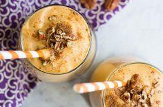 Recipe: Pumpkin Pie Protein Smoothie  6 WW points