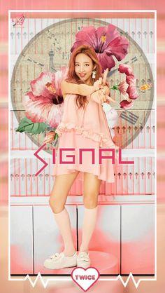 Im Nayeon || Nayeon || Twice || Nayeon Lockscreen || Twice Lockscreen || Signal album || Signal era || Signal Lockscreen