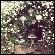 a garden hideaway someday