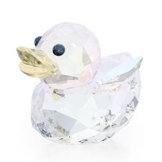 Swarovski Crystal HAPPY DUCK ANGEL 5080327 New 2014 #CrystalFigurine