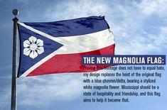 Alternate Worlds, Alternate History, Earth Flag, Mississippi Flag, Buy Flags, Flag Art, Magnolia Flower, Blue Chevron, Country Art