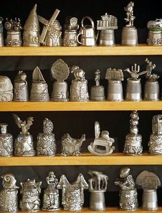 A Beautiful Thimble Collection.
